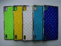 high quality crystal diamond case for huawei P7