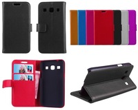 Luxury Wallet Leather Case for Samsung Galaxy Core Plus G3500 With Credit Card Holder Mobile Phone Cases + Touch Stylus