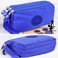 2014 New hot wholesale PU leather zipper frosted women wallets soft Coin Purse fashion women handbag Free shipping