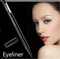 Hor Black,Makeup Gel Thin Design Waterproof Eyeliner Liquid Pen Eye Liner Pencil  Free Shipping