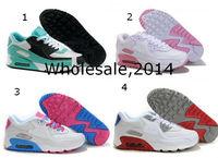 New 90 running shoes, fashion women's sports walking shoes sneakers 36-40
