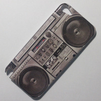 20pcs Brand New Retro Cassette Music Player Pattern Design Hard Back Cover Case For iPod Touch 5 5TH Gen Free Shipping
