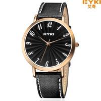 EYKI Genuine Leather Watch,Men's & woman Sports Waterproof Watch