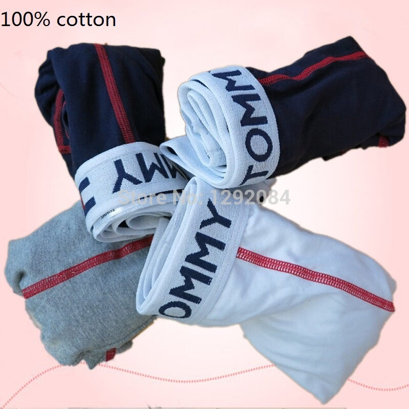 High Quality Mens Brand Underwear 100%Cotton Sexy Men Boxers Shorts New Trunk Cuecas Panties Men Underpants 5 Pcs/Lot Hot(China (Mainland))