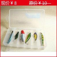 B01-n01-20 lure box single tier 20 10.5 2.5cm transparent lure tools