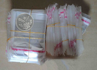 1000pcs Clear Mini Small plastic bags for jewelry 4x6cm Self Adhesive Seal OPP Package bag 1.6x2.4inches  small plastic bags