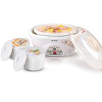 The Tonze/ skyline DDZ-16BW  electric cooker electric stew cup white porcelain pot cooking porridge pot three bile BB pot
