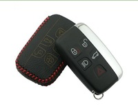 Leather Remote Smart Key Holder Case Cover For  XF XJ