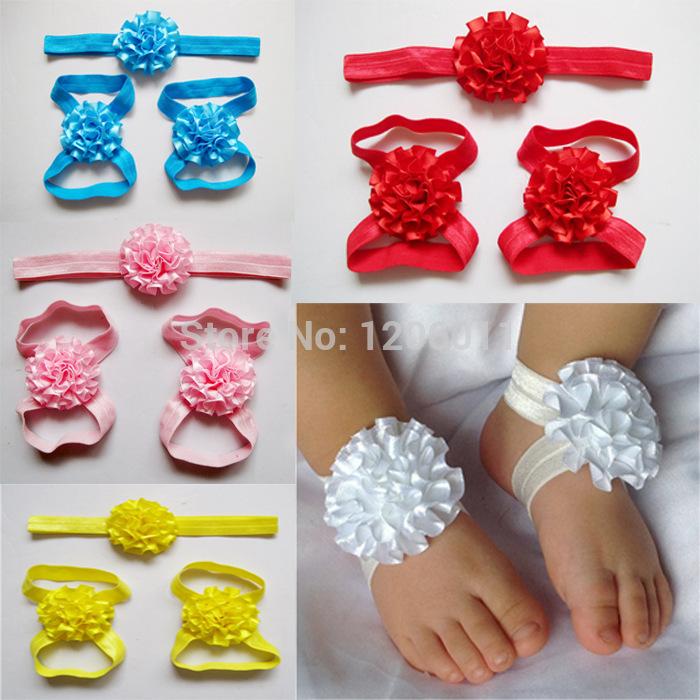 Groothandel bloem baby op blote voeten sandalen kopen bloem baby op blote voeten sandalen - Baby voet verkoop ...