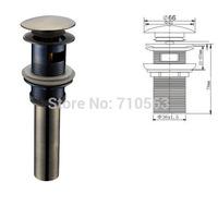 Freeshipping- Antique Bronze Copper Pop-Up Drainer bathroom vessel sink drain pop up (1003)