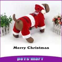 Red Christmas costume winter  fashion dog clothes coat vest animals designer pet chihuahua clothe pets mascotas perros jebao