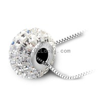 Fashionable Austrian Crystal DIY Side Drill Necklace - Multicolor