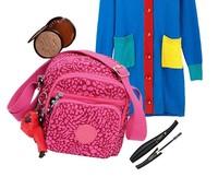 1pcs new arrival kip fashion small cross boy bag Female travelling bag with monkey bag