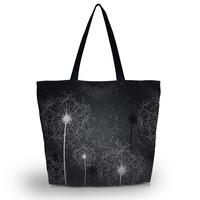 Dandelion Women Beach Tote Shoulder Bag Purse Handbag Travel School Folding Bag