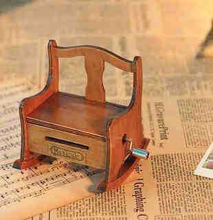 DIY 18 notes paper tape music box Hand crank Paper Strip music box mechanism unusual gifts birthday gifts(China (Mainland))