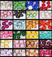 10000pcs Bling Round 2MM Rhinestone 14 section Phone Cover Decoration Fake Nails Tips Nail Art Acrylic UV Gel