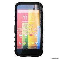 Future Armor Impact Hard Case Cover+FILM+STYLUS for Motorola Moto G Xt1032 XT1033 xt937c xt1028  Free shipping