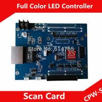 Asynchronous CPW-S Cpower7200 RGB  Receiving Scan controller Card, Lumen Card
