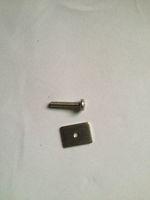 fin plate/FCS Long board Screw and Plate Smart Screw/Longboard box screw