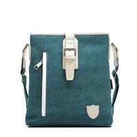 New 2014 Casual Messenger Bags Men Canvas&Leather Crossbody Bags Leisure Shoulder Bags Vintage Military Rucksack  Briefcase  Men