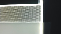 Light sheet/300*300*4mm/for lighting/laser dotting technology/Uniformity>90%