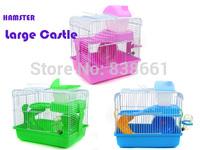 New arrival hamster Large Castle super deluxe hamster cage hamster nest hamster house 29*21*30cm