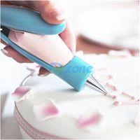 Manual Squeeze Cream Pastry Icing Decor Art Pen Bag Nozzle Cake Sugar Craft Set#58198