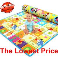 New Arrive Doulble-Site Baby Play Mat 2*1.8 Cartoon Child Beach Mat Picnic Carpet Baby Crawling Mat CM-008