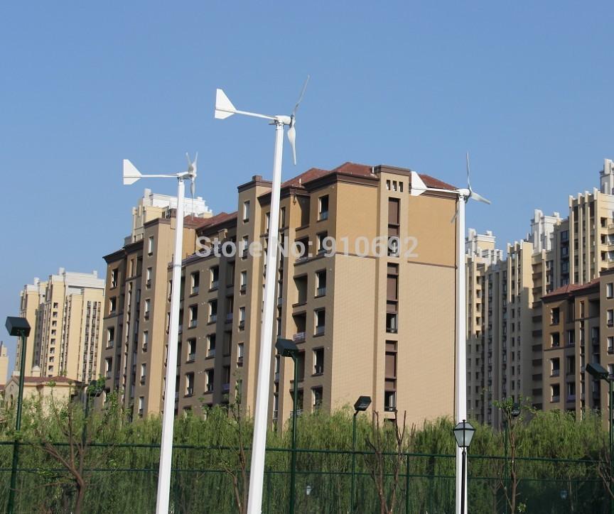2kw wind turbine generator with 3 blades(China (Mainland))