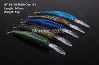 5 X Premium Quality Minnow 14.5cm 15g Fishing Lure Fishing Tackle