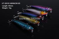 5 X Premium Quality Minnow 8.5cm 10g Fishing Lure Fishing Tackle