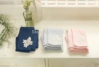 Wholesale children leggings,korean 100% cotton ninth pants girls clothings,candy color embroidery cute kids leggings