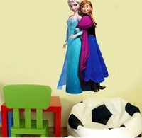 Free Shipping Decorating Small Living Rooms Movie FROZEN Wall Decal Sticker Removable Decor Home Frozen Stickers Kids Mural