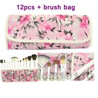12 Pcs hotsale  Professional Makeup  Brushes Set & Kits 12pcs Cosmetic tools   Kit  face & eye  Make up  Brush  set  12 pcs