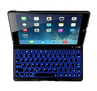 Wireless Bluetooth Backlight Keyboard Case For Apple iPad 5 Air Metal Aluminium Ultra Slim Mute F5S Tablet PC Cases
