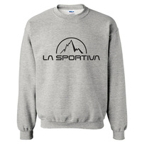 spring-autumn 2014 2015 famous outdoor brand La Sportiva cheap full sleeve sports man hoodies sweatshirt sportswear moleton