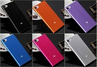 Xiaomi M3 mi3 Metel Case Cover Protection Case Six Color Optional Black,Silver,Rose,Purple,Orange,Blue