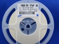 1000pcs/lot, 27pF 0603 SMD/SMT Chip Capacitor, C0603 27pF