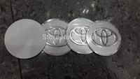 Toyota Wheel Center Cover stickers, 4pcs/set 55.5mm, aluminum alloy wheel hub caps sticker
