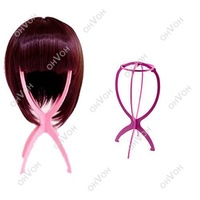 Folding Plastic Stable Durable Wig Hair Hat Cap Holder Stand Display Tool Dropshipping S5K