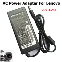 Original 20V 3.25A 65W 5.5mm*2.5mm AC Adapter Charger For  Lenovo Laptop Free Shipping