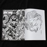 sketch tattoo  book magzine manuscripts A4 size free shipping for tattoo equipment