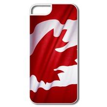 Para o Iphone 5 5S tampa personaliza engraçado canadá bandeira nacional Familly imagem 5S malas da marca New(China (Mainland))