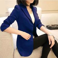 2014 Women's OL Green Blazer Women Blazers and Jackets Slim Medium-long Blazer Suit Free Shipping OL Business Coat