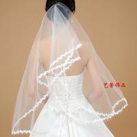 White Bride Wedding Dress White Veil Laciness Hair Accessories Wedding Accessories(minim order $10)