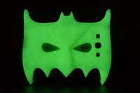 Free shipping! New Hot Black And Green 3D Batman Mask Soft Silicone Case Cover For samsung S9300 S3