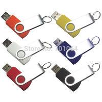 Free DHL: 650units x 4gb Swivel USB flash drive with logo printing flash pendrive