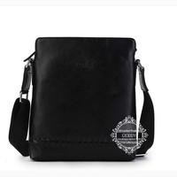Freeshipping luxury bag men 2014 Men's leather shoulder bags manufacturers, wholesale casual bags 100% genuine leatherJM8019-4