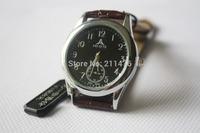50pcs  waterproof Korea luxury  round elegant wristwatch top brand genuine leather quartz watch for wome/men CDWT001010