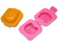 DIY Sushi Rice Mold Cute Rabbit & Bear Egg Mold Creative Kitchen Necessaries Creative Cooking Tools 2 pcs/lot